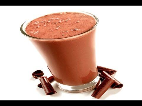 """smoothie-au-chocolat-à-la-banane-et-au-lait-de-coco-""""coco-cacao"""""""