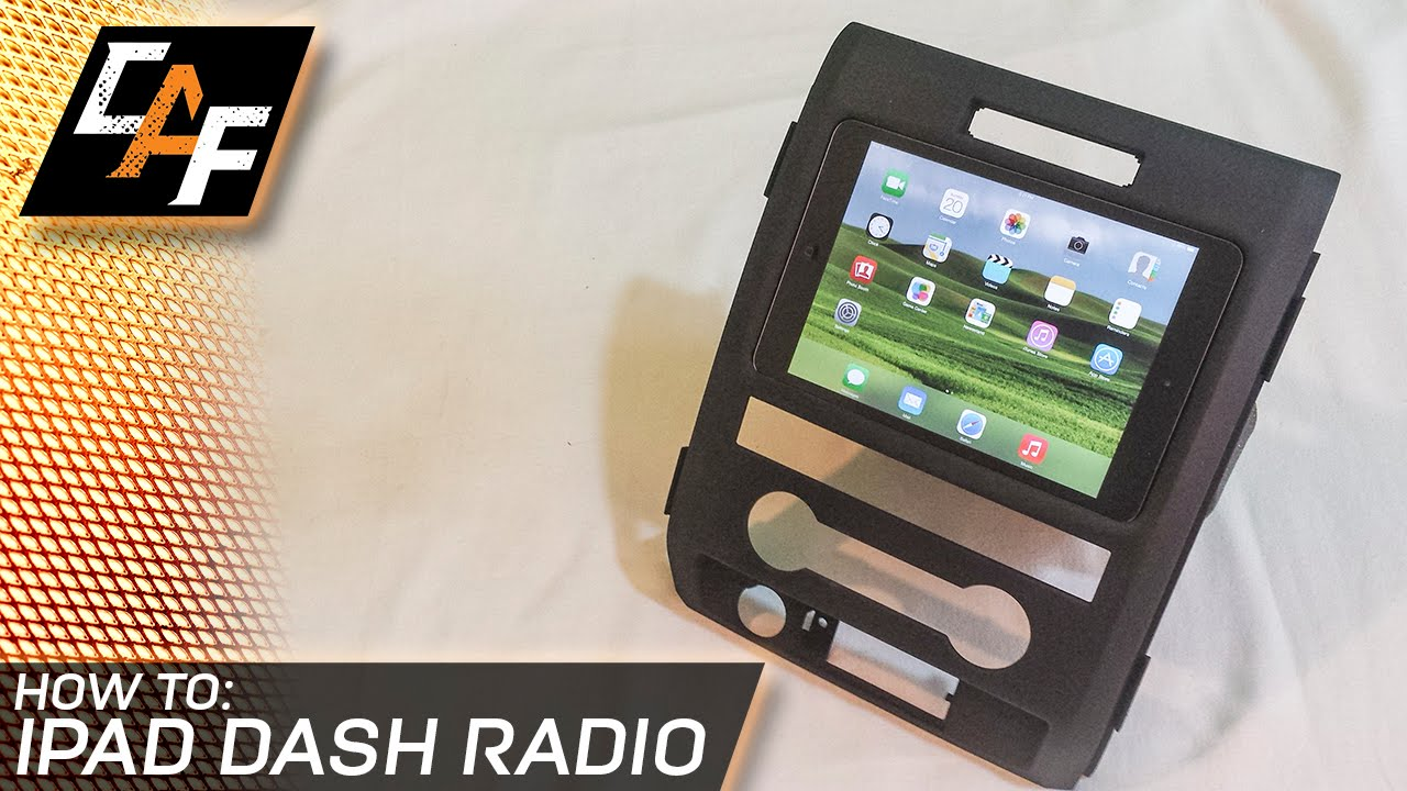 hight resolution of ipad as a car dash radio build process overview caraudiofabrication youtube