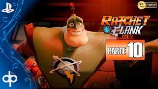Ratchet and Clank PS4 Parte 10 Gameplay Español | Desplanetizador - Campaña Completa 1080p