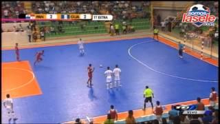Resumen en la final del futsal entre Panamá vs Guatemala