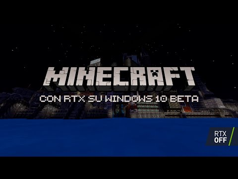 Minecraft RTX Beta DISPONIBILE ORA | Trailer di lancio ufficiale