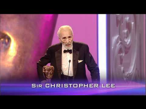 Sir Christopher Lee  Bafa 2011 Orange British Academy Film and Televisions Awards
