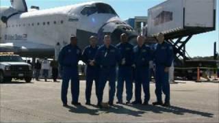 STS-129 Astronaut Post Landing Activities