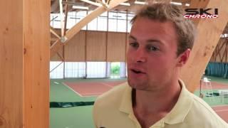 Pinturault parle de sa préparation estivale... et du tennis