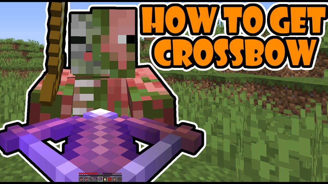 Minecraft 1 14 Snapshot: How Use The Crossbow