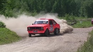 Ford Escort Mk2 2009 Rally Video