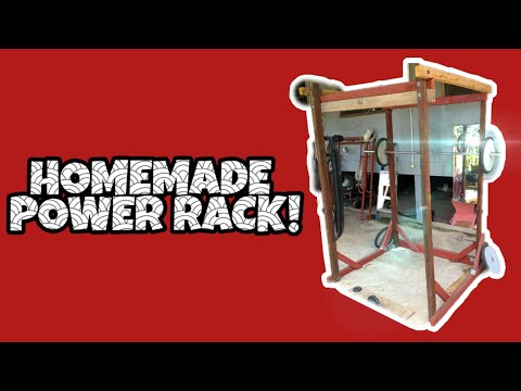 EP 2 DIY Home Gym | How to make your own Power Rack at Home (Human Malware Version)