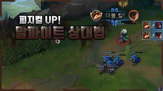 【양거북】 티모 vs 말파이트 《피지컬 업!》 (Tee…