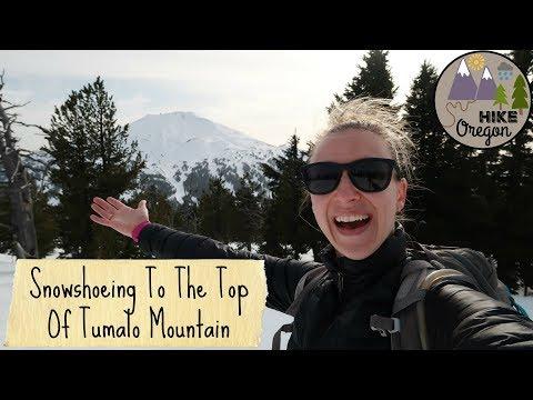 Snowshoeing Tumalo Mountain
