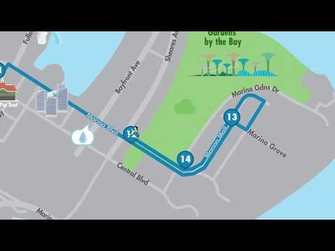 SCSM 2017 - Half Marathon Route
