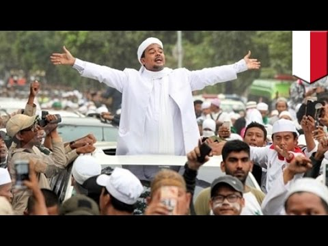 Extreme Islam in Indonesia: FPI leader and Ahok nemesis faces 9 criminal allegations - TomoNews
