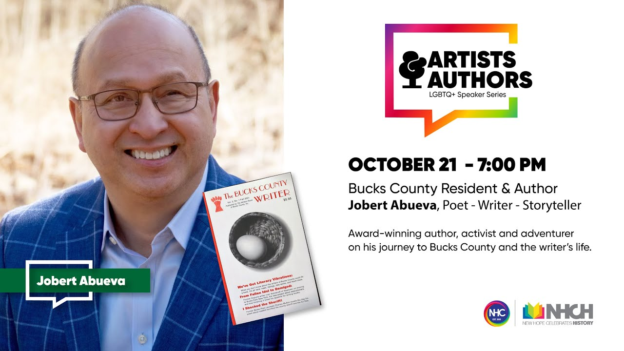 "COMING SOON - ""Boy Wander"" Jobert Abueva: NHCH Authors & Artists Series, October 21st 2021"