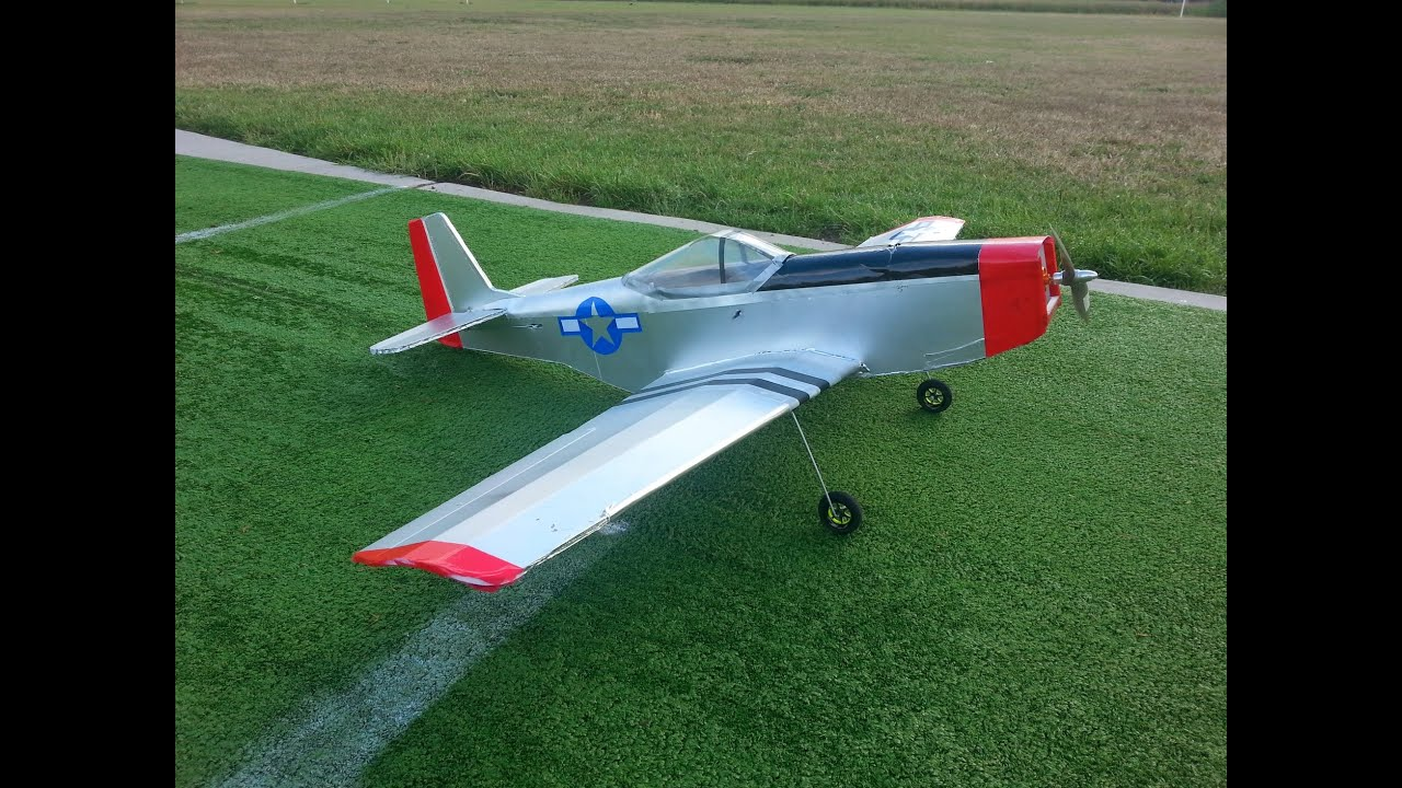 Flite Test Ft Mustang - Year of Clean Water
