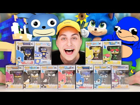 *WE GOT SANIC* Unboxing 10+ Custom Sonic Funko Pops!