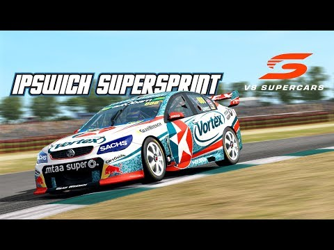 VASC: Ipswitch SuperSprint (V8 Supercar in Automobilista)