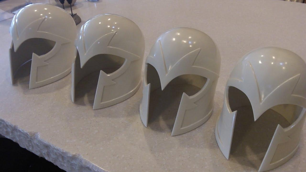 Homemade Magneto Helmets For Comic Con 2015 Fine Tuned