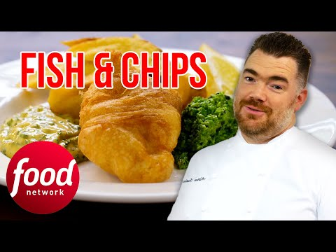 Cornish-Based Nathan Outlaw Teaches How To Cook His Famous Fish & Chips | My Greatest Dishes