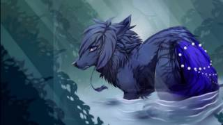 Anime wolves - Angel