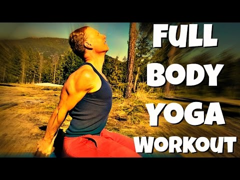 40 Min Yoga for Strength and Flexibility w/ Sean Vigue