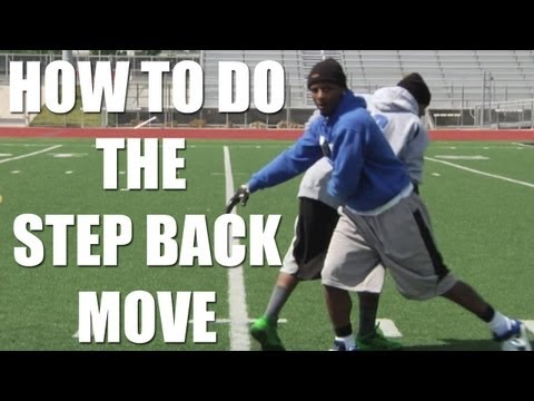 Wide Receiver Step Back Move with Stevie Johnson