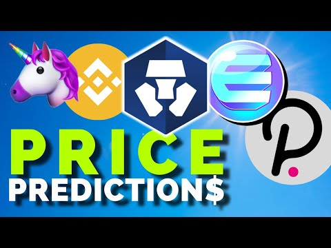 Altcoin Price Analysis: Enjin, Polkadot, Binance Coin, Uniswap, Crypto.com