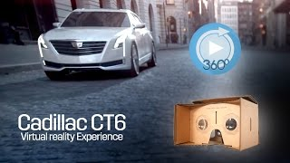 Exclusive Cadillac CT6 Virtual Reality Experience  (2016)
