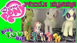 My Little Pony Nurse Redheart & Puzzle Erasers Eraseez Review! by Bin's Toy Bin