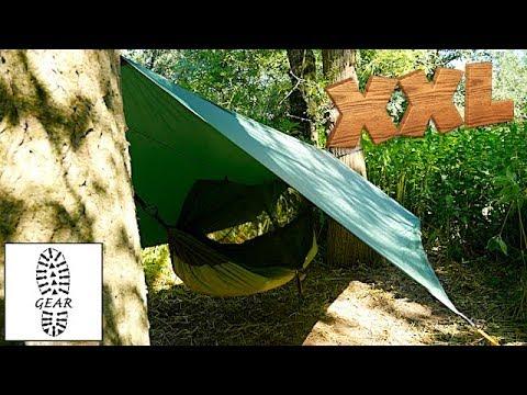Moskito-Traveller Thermo XXL + Traveller Tarp XXL von Amazonas