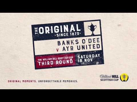 Banks O'Dee 2-6 Ayr United | William Hill Scottish Cup 2017-18 – Third Round