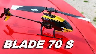 Extremely Beginner Friendly RC Helicopter - BLADE 70 S - TheRcSaylors