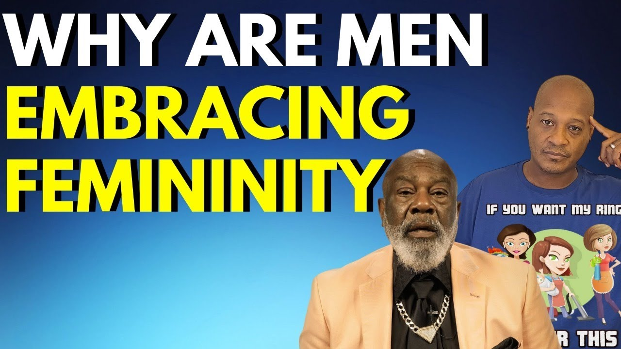 Why are men embracing femininity (LIVE CALL IN SHOW 515 605 9373)