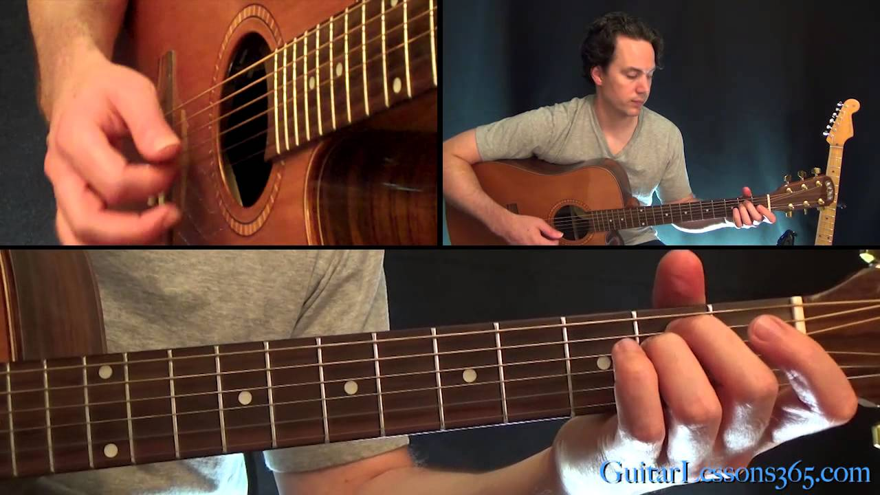 Trouble Guitar Lesson Coldplay Youtube