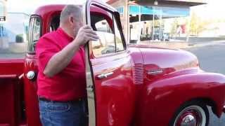 "1952 Chevy Red 5 Window PU  "" SOLD ""  Drager"