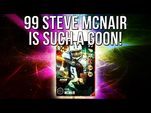 Madden 17 Ultimate Team :: I SWEAR This 99 Steve McNair Is A GOON! :: Madden 17 Ultimate Team