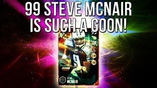 Madden 17 Ultimate Team :: I SWEAR This 99 Steve McNair Is A GOON! :: Madden 17 Ultimate Team