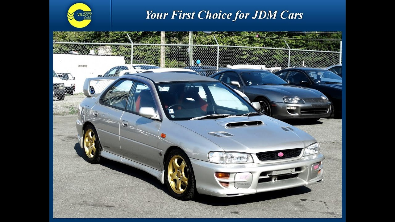 1998 Subaru Impreza WRX STi for sale in Vancouver, BC, Canada - YouTube