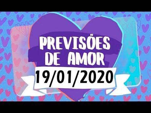 HORÓSCOPO DO AMOR 19/01/2020 Previsões Para Todos Os Signos