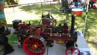 Traction Engines at Sandgropers 2013
