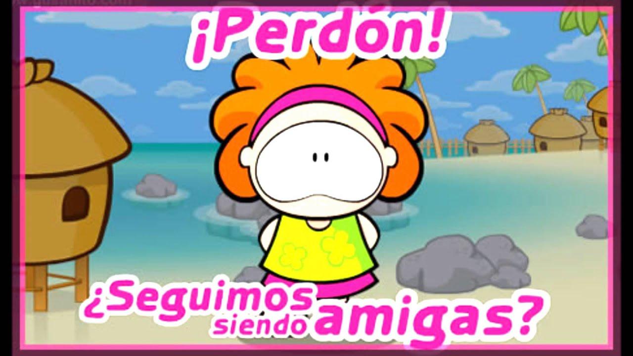 PERDON AMIGA.