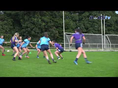Dublin Ladies training ahead of All-Ireland Final against Meath