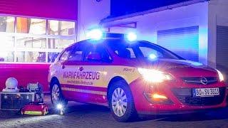 Feuerwehr Warnfahrzeug Bochum (2016)