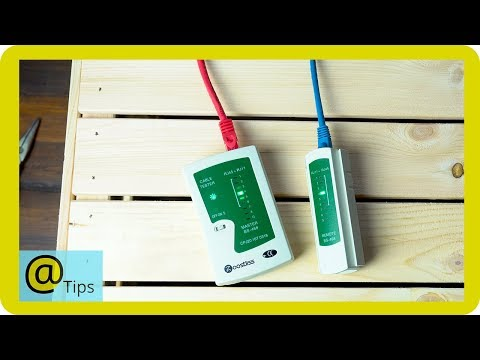How to Use an Ethernet Cable Tester
