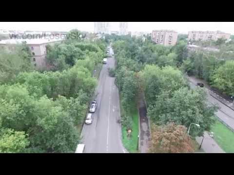 После урагана грозы Богородское 13 июля Москва коптер 2016