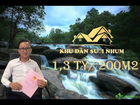 Đất sổ sẵn ngay khu du lịch Suối Nhum - ngay trung tâm hành chính mới - Đất nền thương cảng