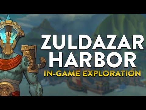 Zuldazar Habor, Zuldazar In-game Preview!  World of Warcraft Battle for Azeroth