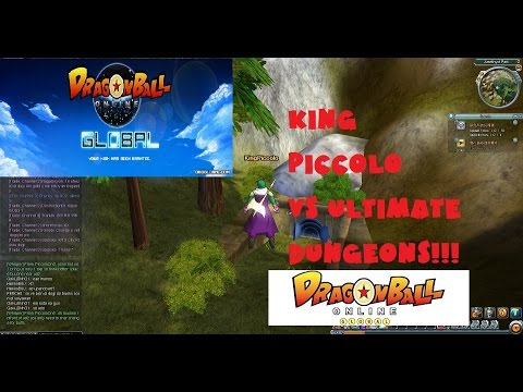 Dragon Ball Online Global POB KingPiccolo&Friends vs UD's (Ultimate Dungeons) ud2, ud3