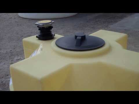 125 Gallon Vertical Crosslink Storage Tanks for Diesel Fuel or Gasoline | 866-866-8611