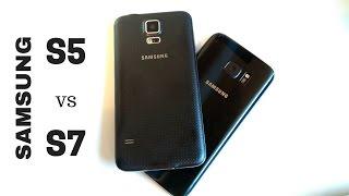 Samsung Galaxy S5 contro S7 | Quanto tempo è passato!