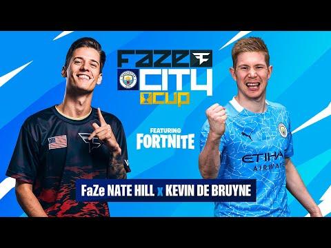 KDB Eliminated FaZe Bizzle!! | Kevin De Bruyne & FaZe Nate Hill play Fortnite