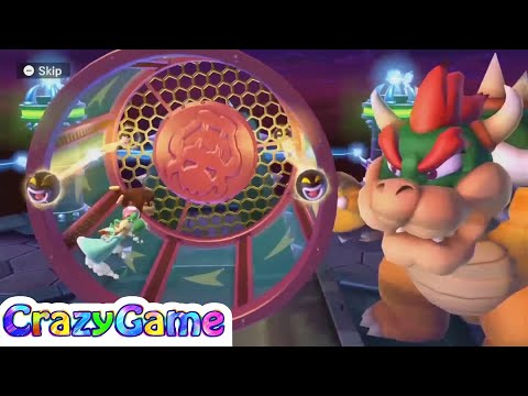 Mario Party 10 Bowser Party #9 Chaos Castle (Team Bowser)